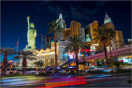 Canvas print  New York New York in Las Vegas - Marcel Gross