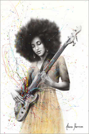 Canvas print  Bass Funk - Ashvin Harrison