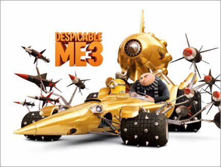 Premium poster  Despicable Me 3 - Villain wheels