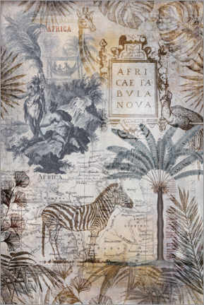 Canvas print  Explore The Wild Africa - Andrea Haase
