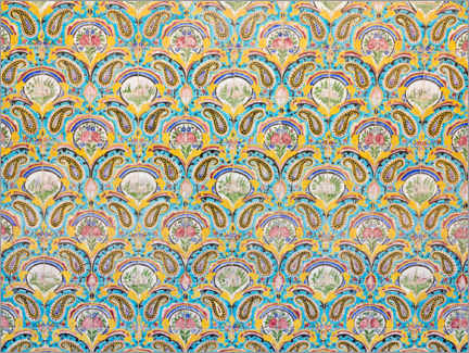 Canvas print  Decorative palace tiles - XYZ PICTURES