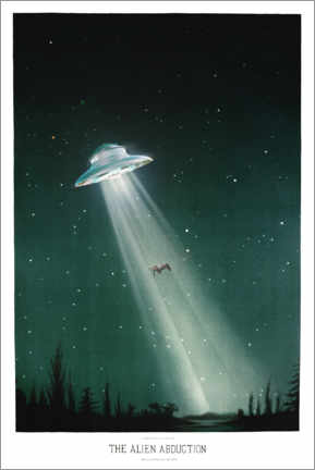 Premium poster  Alien abduction - Jonas Loose