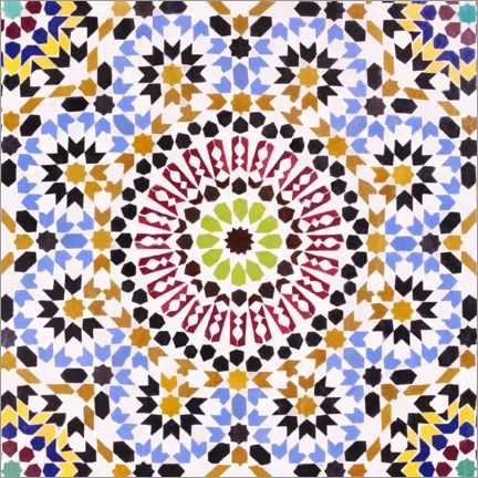 Canvas print  Moroccan tiles - XYZ PICTURES