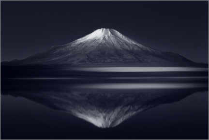 Premium poster  Reflection Mount Fuji - Takashi Suzuki