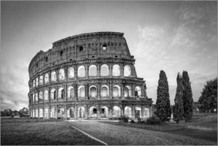Canvas print  Colosseum in Rome - Jan Christopher Becke