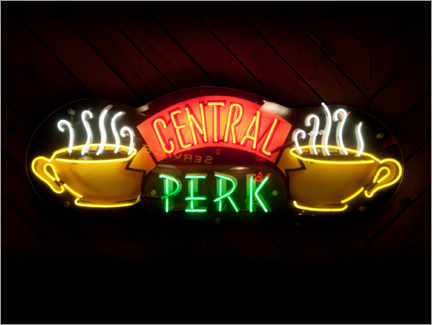 Aluminium print  Friends - Central Perk Café