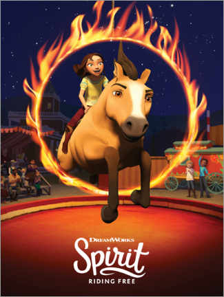 Canvas print  Spirit Riding Free - Arena