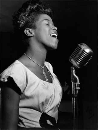 Premium poster  Sarah Vaughan - William P. Gottlieb/LOC