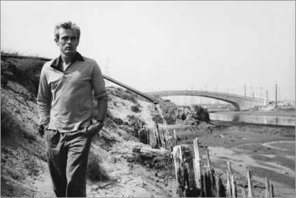 Canvas print  James Dean - Sanford Roth