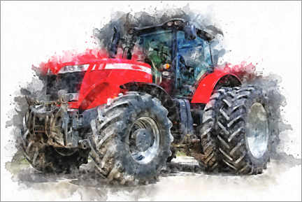 Canvas print  Tractor I. - Peter Roder