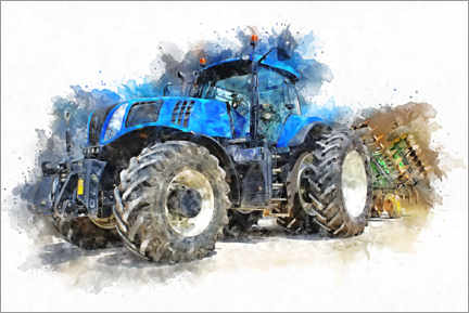 Canvas print  Tractor IV - Peter Roder