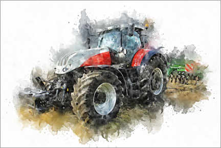 Canvas print  Tractor VI - Peter Roder