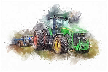 Canvas print  Tractor VII - Peter Roder