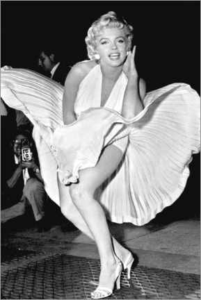 Canvas print  Marilyn Monroe Pose - Celebrity Collection