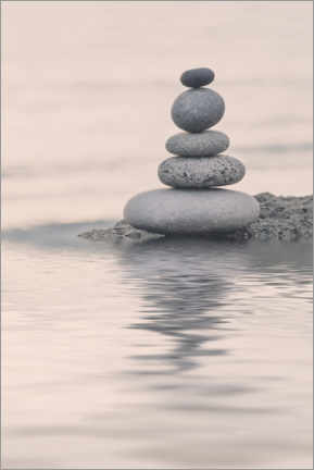Canvas print  Tranquil Balance - Andrea Haase Foto