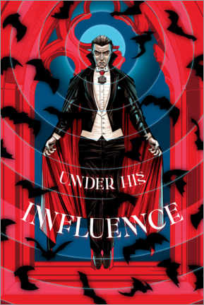 Canvas print  Dracula - Under his influence