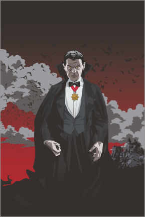 Wall sticker  Count Dracula