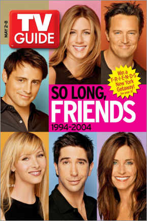 Premium poster  TV Guide - Friends Portraits - TV Guide