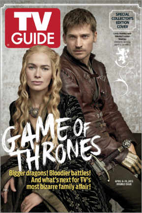 Premium poster  Game of Thrones - Bigger dragons - TV Guide