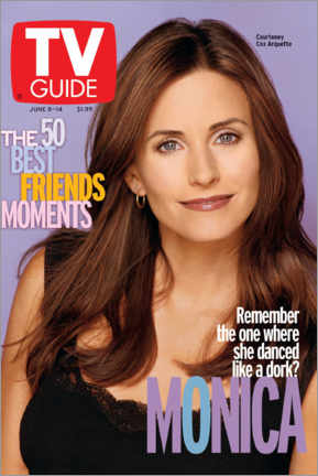 Aluminium print  Monica - Friends - TV Guide