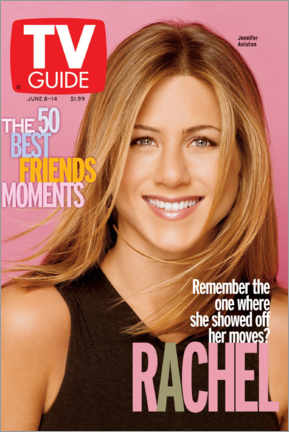 Aluminium print  Rachel - Friends - TV Guide