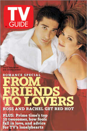 Gallery print  Ross and Rachel - Friends to lovers - TV Guide