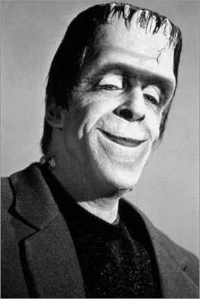 Premium poster The Munsters, Fred Gwynne