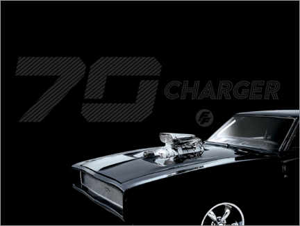 Premium poster  Dodge Charger