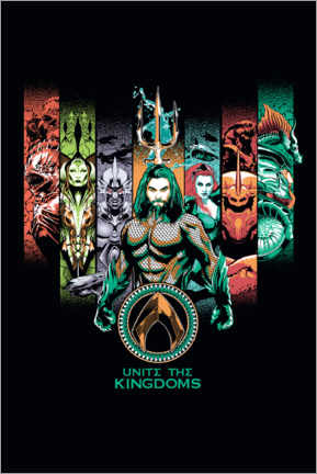 Premium poster  Aquaman - Unite The Kingdoms