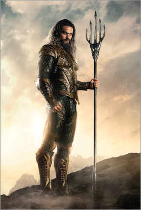 Premium poster  Justice League - Aquaman