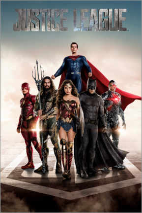 Premium poster  DC Justice League Movie poster