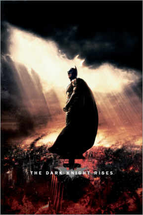 Canvas print  The Dark Knight Rises - Sunbeams