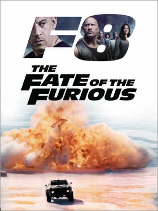 Premium poster  The fate of the furious