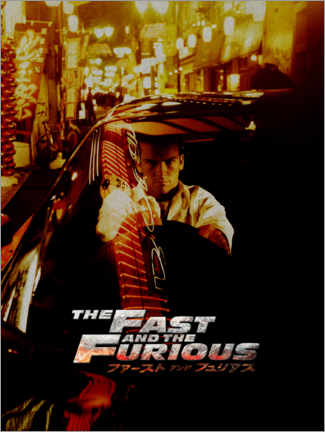 Premium poster  The fast and the furious - Tokyo Drift