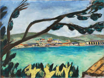 Wall sticker  Small landscape from Bandol - Max Beckmann