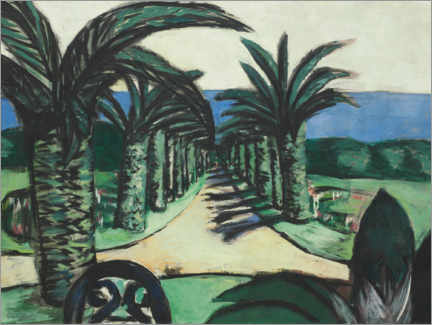 Wall sticker  The landscape, Cannes - Max Beckmann