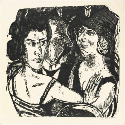 Gallery print  Untitled - Max Beckmann