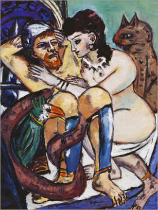 Wall sticker  Odysseus and Calypso - Max Beckmann