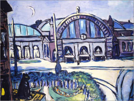 Wall sticker  Frankfurt Central Station - Max Beckmann