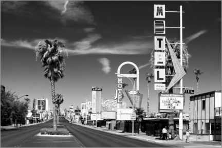 Canvas print  Black Nevada - Old Vegas - Philippe HUGONNARD