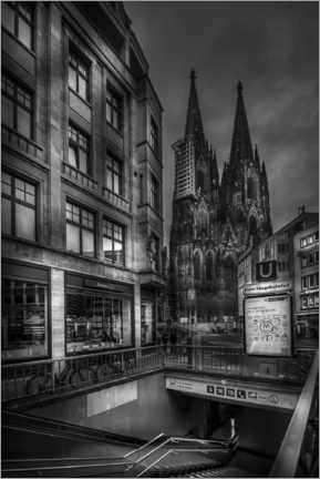 Acrylic print  Cologne cathedral - Jens Korte