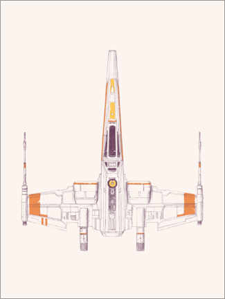Foam board print  Spaceship - Florent Bodart