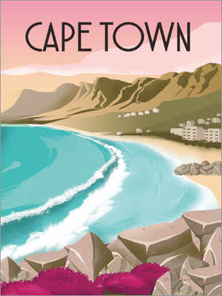 Canvas print  Cape Town South Africa - Omar Escalante