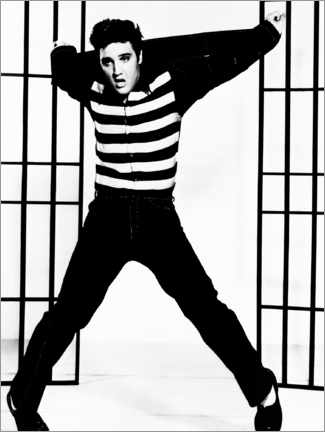 Canvas print  Elvis - Jailhouse Rock I