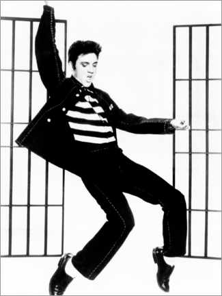 Canvas print  Elvis - Jailhouse Rock II