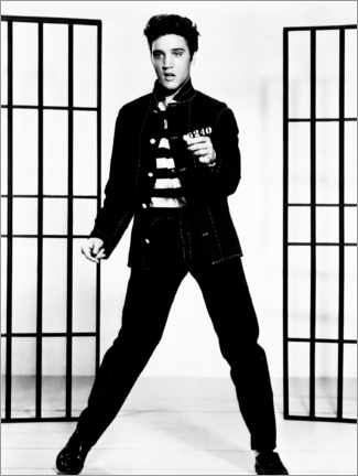 Canvas print  Elvis - Jailhouse Rock III