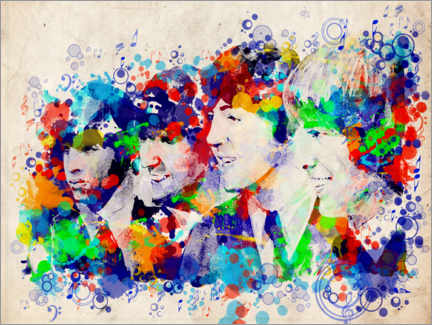 Canvas print  The beatles - Bekim Mehovic