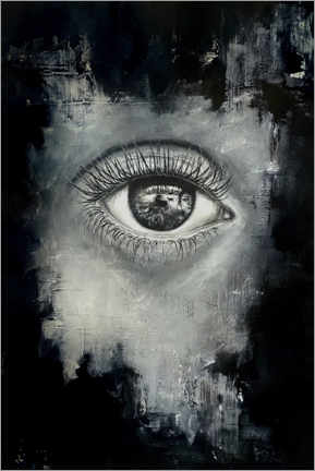 Canvas print  The eye of the beholder - Erika Viklund