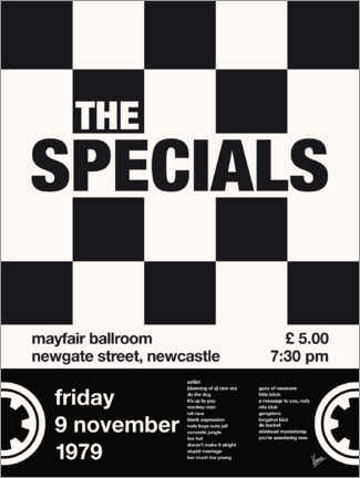 Wall sticker The Specials Concert Poster