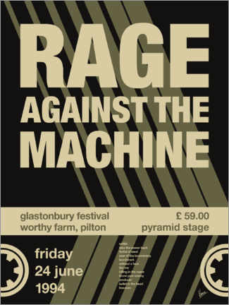 Wall sticker Rage Against the Machine Concert Poster